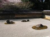 English: Dry Garden in Ryoanji (Kyoto, Japan) 日本語: 日本・京都の龍安寺石庭
