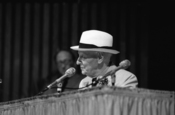 English: Isaac Bashevis Singer, Miami Book Fair International, 1988