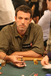 Ben Affleck at the 2008 World Series of Poker