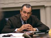 English: DCI Richard Helms, in the White House Cabinet Room. Français : Richard Helms dans la salle du cabinet de la Maison Blanche.