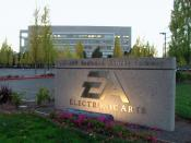 Electronic Arts world headquarters in Redwood Shores, California. (Color-corrected version)