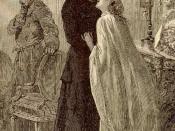 Português: Jean Valjean e Cosette perto do casamento
