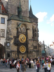 Prague Astronomical Clock, Czech Republic..