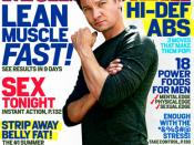 English: This is the 2010 September cover for Men's Health, which was directly received from Rodale, the publisher of Men's Health.