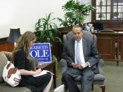 Bob Dole interview