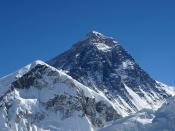 Mount Everest from Kalapatthar.