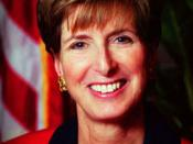 Photo of Christine Todd Whitman, former New Jersey Governor and Administrator of the Environmental Protection Agency (EPA), 2001-03