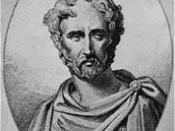 Pliny the Elder: an imaginative 19th Century portrait. No contemporary depiction of Pliny has survived.