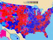 Election results by county. Bill Clinton George Bush Ross Perot