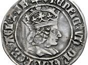 English: Henry VII groat