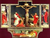 Isenheim altarpiece - first view.