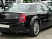 Chrysler 300C SRT8 6.1 rear 20100801