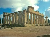 Libia, Cirene (sito archeologico), Tempio di Zeus