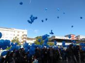 Boiro: Amicos celebra con solta de globos o Día Internacional das Persoas Discapacitadas o martes 3 de decembro