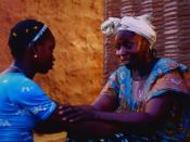 Sembène's 2004 film Moolaadé explores the controversial subject of Female circumcision in Africa