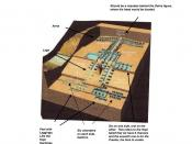 English: Based on the Hopi Creation Story there should be a chamber where the figures head should be.