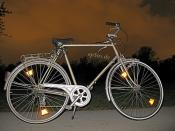 Cycling Bike at Night