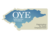 English: Logo for Organization for Youth Empowerment