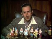 Walt Disney in a 1937 color movie trailer for Snow White and the Seven Dwarfs.
