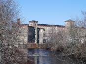 English: Historic Centerville Mill, West Warwick, Rhode Island