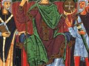 Reproduction photographique de l'enluminure de l'empereur Otton III.