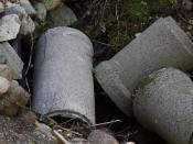 English: Culverts (concrete), used for drainage under roads