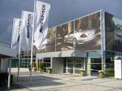 AMG Affalterbach DaimlerChrysler customer service Eingang