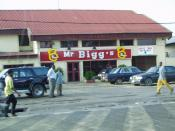 The fast-food restaurant chain Mr. Bigg's in Nigeria