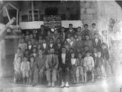 Students and teachers of Sarsing school 1930