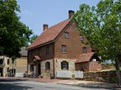 English: Winkler Bakery at Old Salem, Winston Salem, North Carolina.