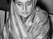 Indira Gandhi is elected as the first female Prime Minister of India