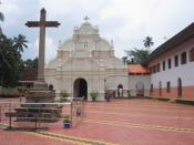 English: Arakuzha Syro-Malabar Catholic Church near Muvattupuzha.