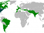 English: Foreign trips of Dwight Eisenhower during his presidency.