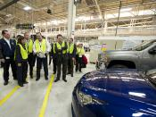 General Motors Baltimore Operations Plant Tour with Sec. Hilda Solis