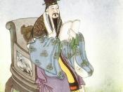 Picture of the Confucian philosopher Mencius.