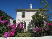 English: I took this photo of Katherine Mansfield Birthplace in Thorndon, Wellington, New Zealand on the 3rd of December 2007. New Zealand Historic Places Trust Register number: 4428
