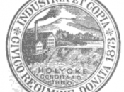 Official seal of Holyoke, Massachusetts