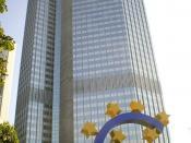 English: European Central Bank ECB Eurotower in Frankfurt a.M. Germany Deutsch: Europäische Zentralbank EZB Eurotower in Frankfurt a.M.