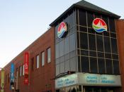 English: Headquarters of Atlantic Lottery Corporation in downtown Moncton, New Brunswick.