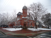 English: Mary Willis Library - Washington, GA. First free public library in the state of Georgia