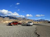 Death Valley and a Audi Q7