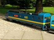 English: Locomotive