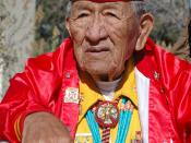 Dan Akee, World War II Veteran, Navajo Code Talker, Diné Nation