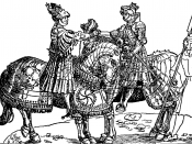 Meeting of Henry VIII and Maximilian.