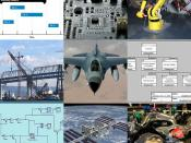 A collage of Systems Engineering applications/projects.