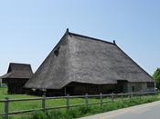 Deutsch: Strohdachhaus Muhen