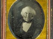 English: Daguerreotype of U. S. President Martin Van Buren. Image courtesy of the Harvard University Library.