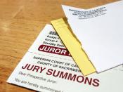 jury summons