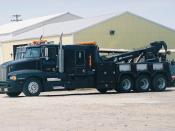 A Heavy-Duty Boom Truck similar to that used in the movie