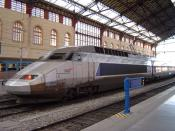 2nd generation TGV train (Réseau tricourant class), Marseille St-Charles station Image by ChrisO